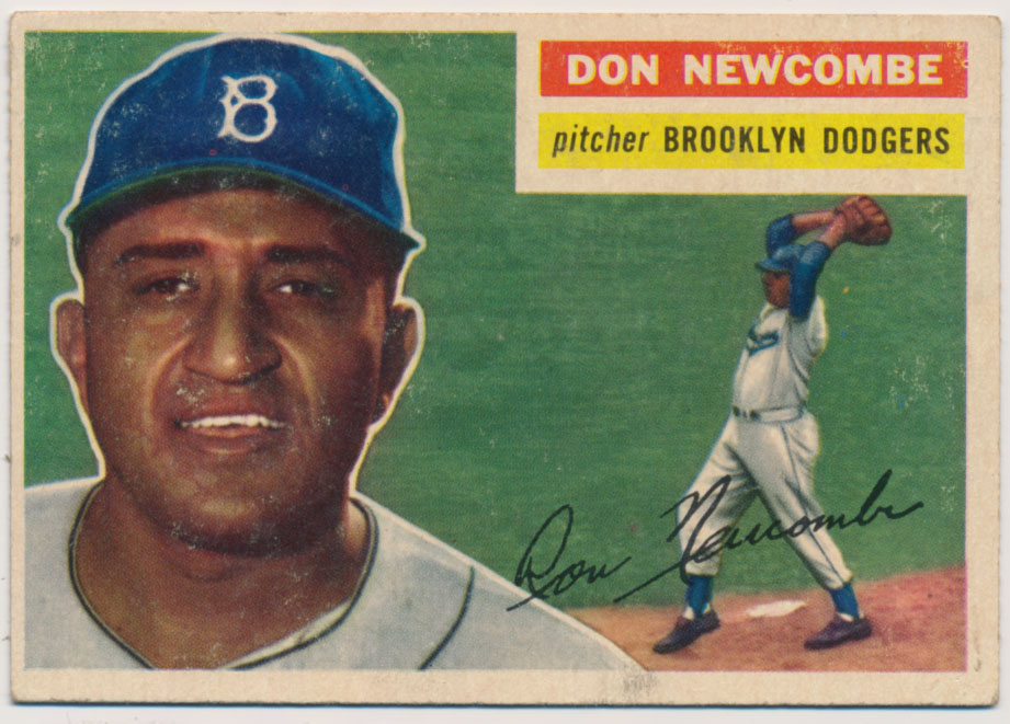 Lot #847 1956 Topps # 235 Newcombe Cond: Ex