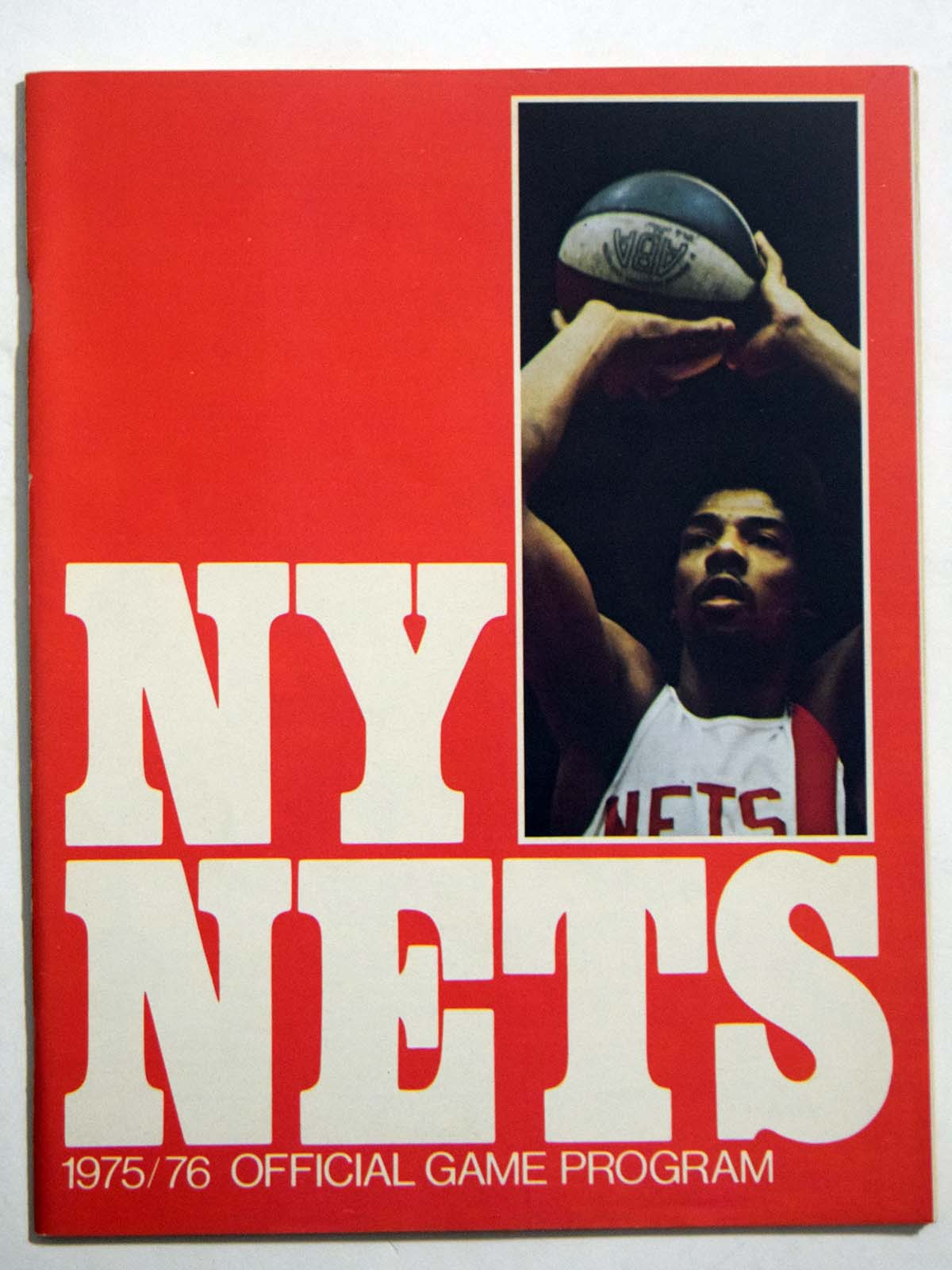 Lot #992 1975 Program  NY Nets/Denver Nuggets Championship Program Cond: NM