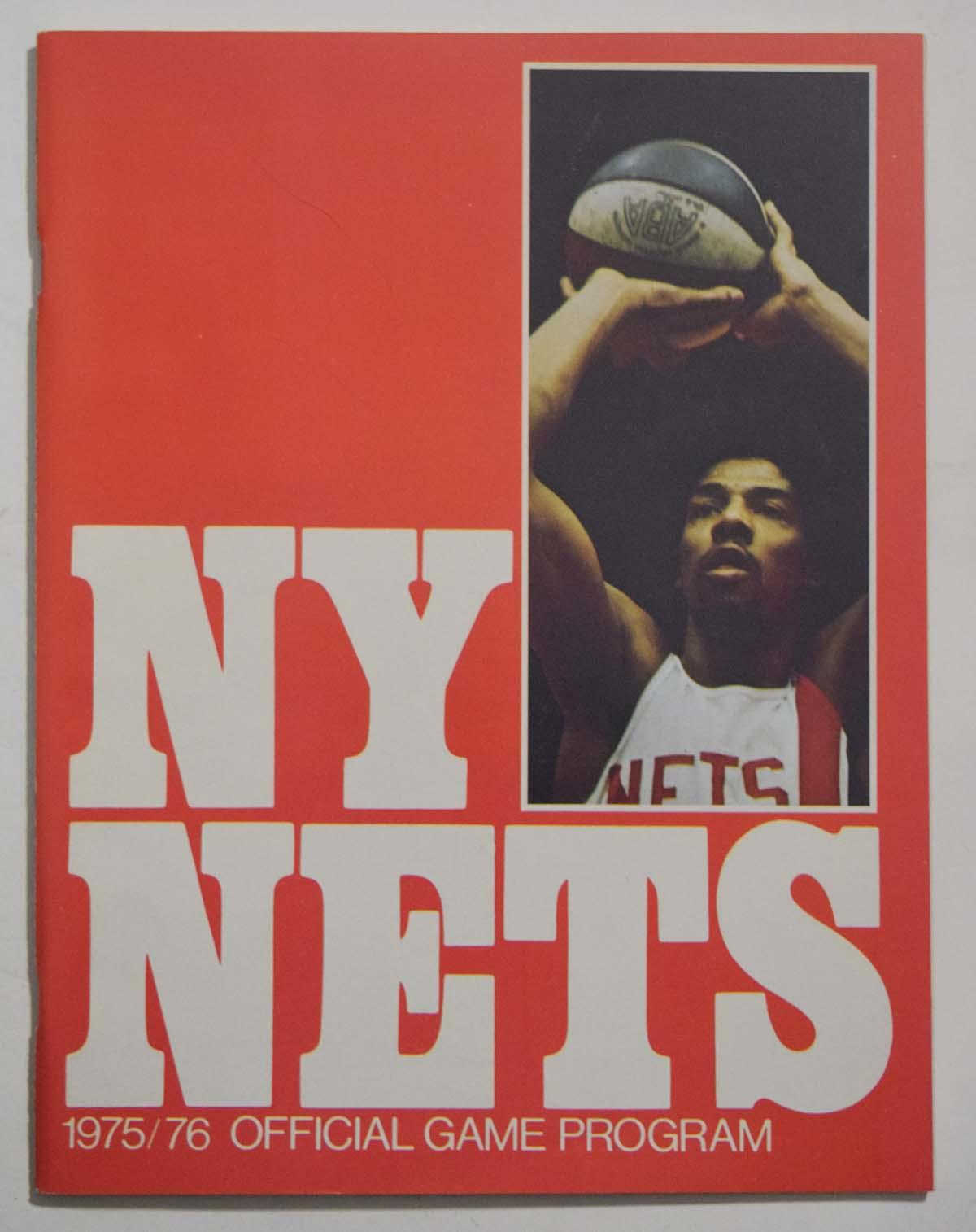 Lot #1000 1975 Program  NY Nets/Denver Nuggets Championship Program Cond: NM