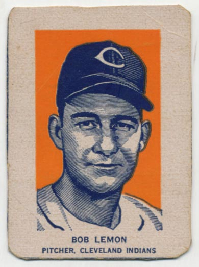 Lot #408 1952 Wheaties  Lemon Portrait Cond: VG+