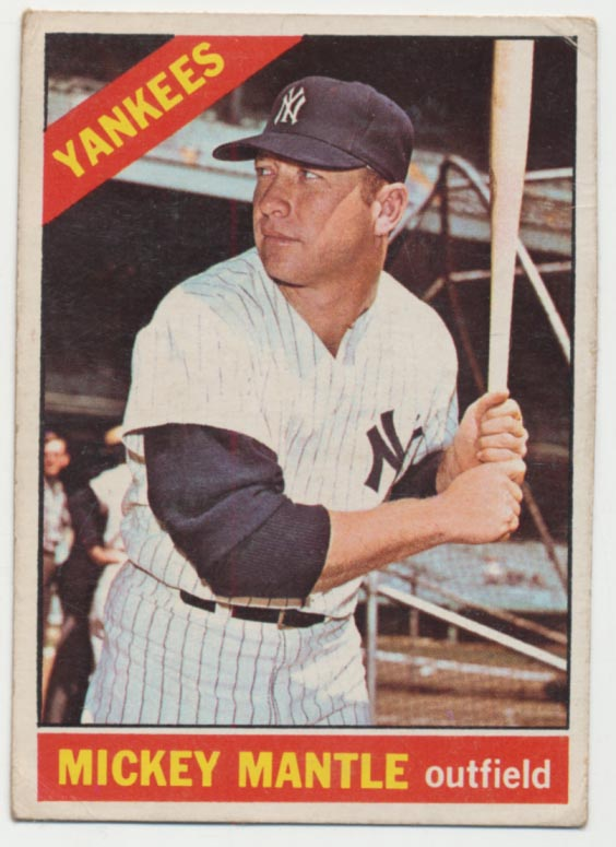 1966 OPC 50 Mantle Good