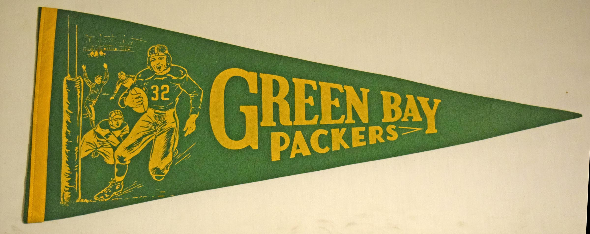 1960 Pennant  1960s Era Green Bay Packers Ex-Mt