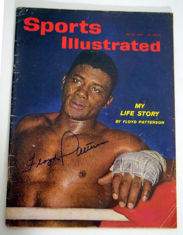 Lot #828     Patterson, Floyd Signed 1962 S.I. (JSA LOA) Cond: 9.5