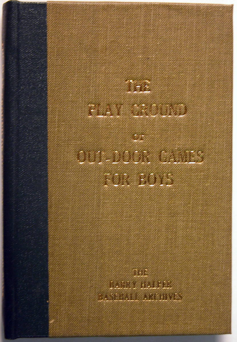 1864 Book  Playground of Out-Door Games for Boys Ex*