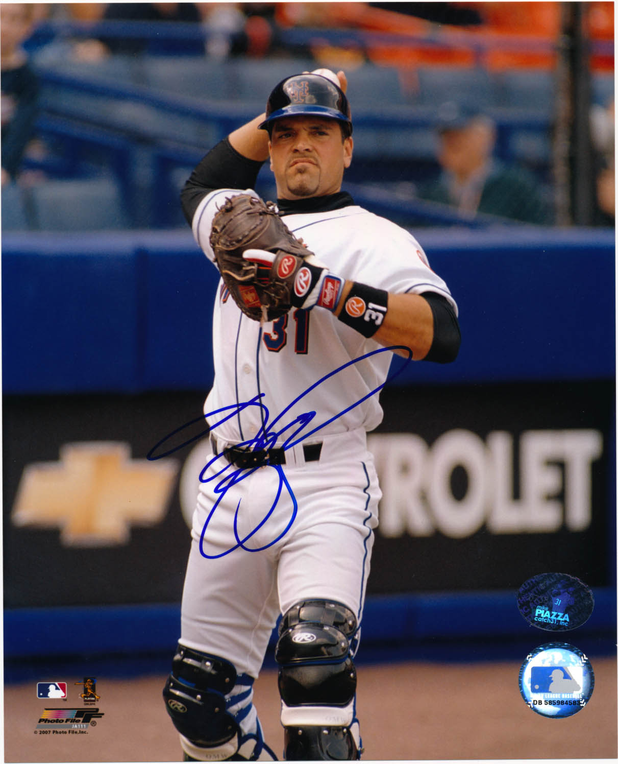 Lot #169  8 x 10  Piazza, Mike Cond: 9.5