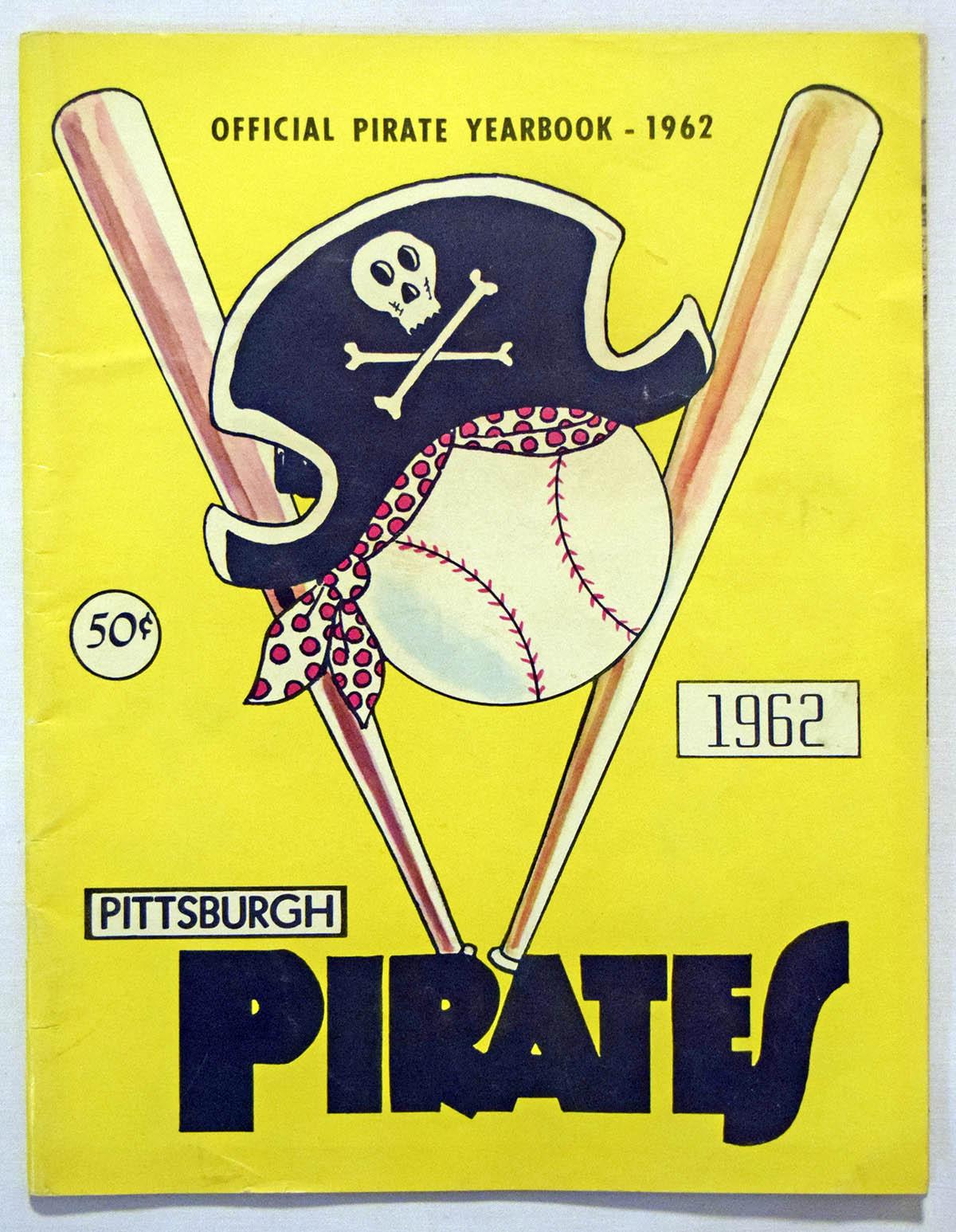 1962 Yearbook  Pittsburgh Pirates VG-Ex/Ex