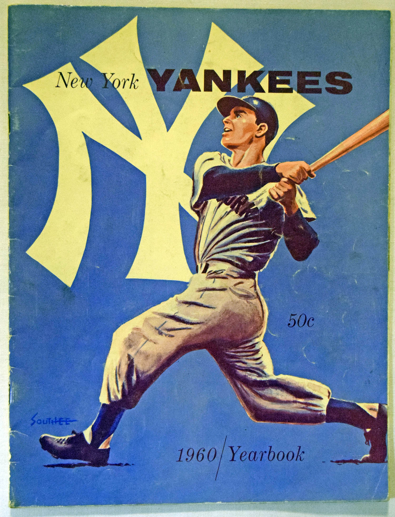 1960 Yearbook  New York Yankees (Jay) VG-Ex