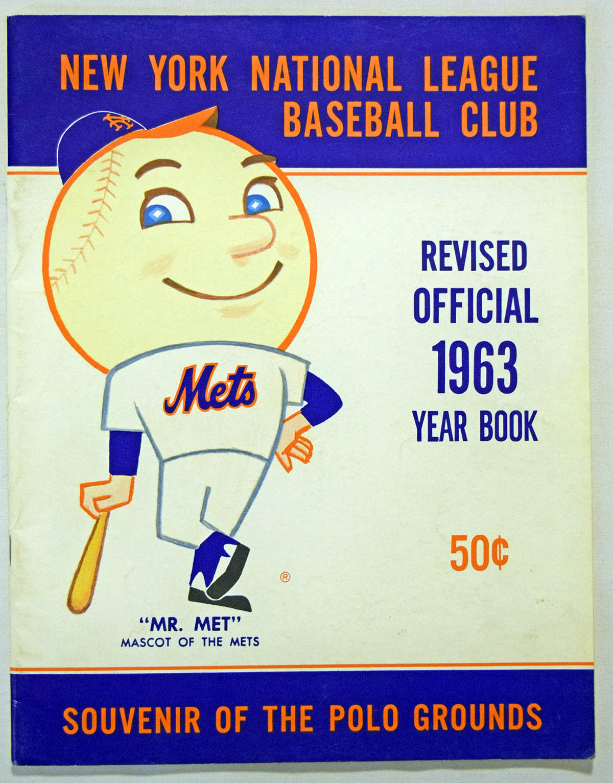 Lot #1746 1963 Yearbook  New York Mets (rev) Cond: Ex-Mt