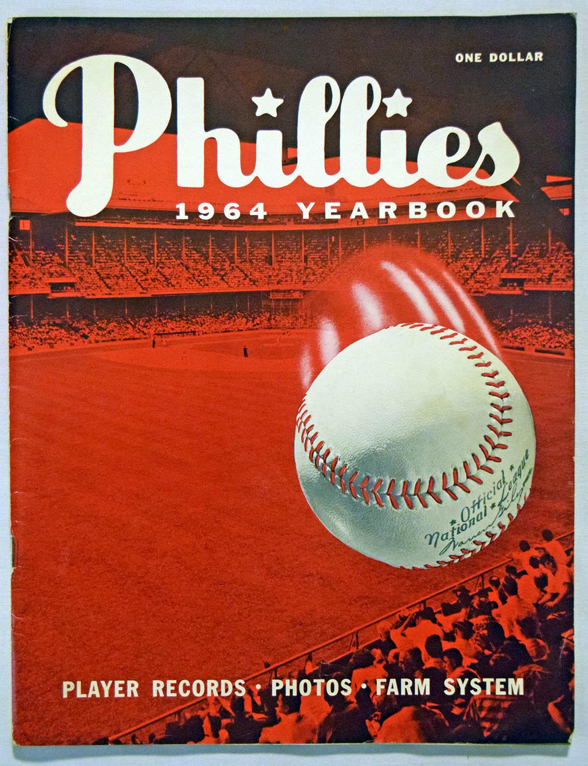 Lot #1751 1964 Yearbook  Philadelphia Phillies Cond: Ex
