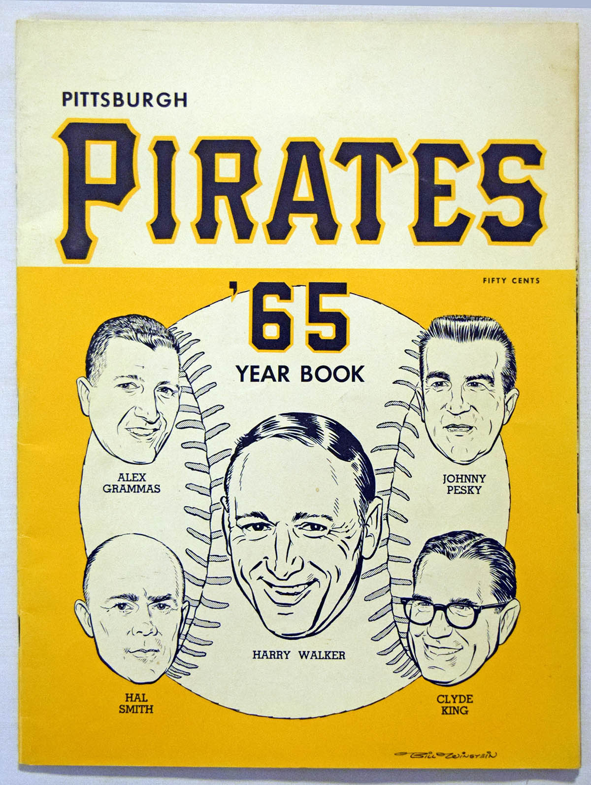 Lot #1753 1965 Yearbook  Pittsburgh Pirates Cond: Ex-Mt