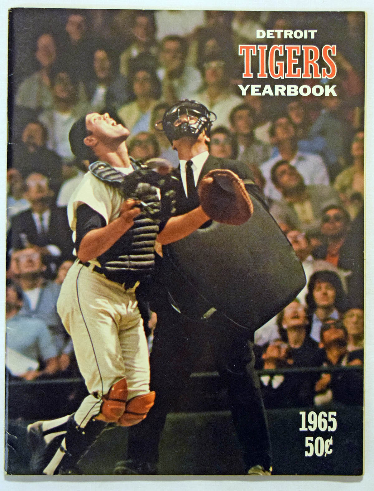 Lot #1752 1965 Yearbook  Detroit Tigers Cond: Ex-Mt+