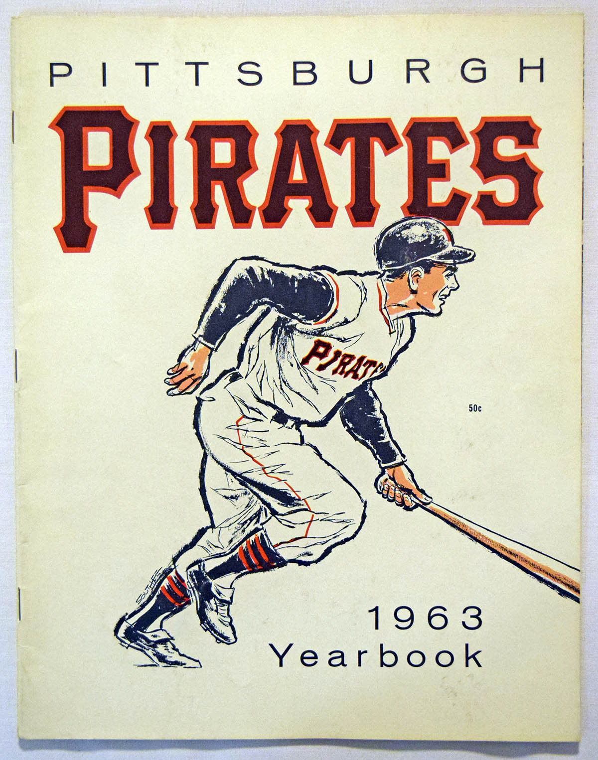 Lot #1748 1963 Yearbook  Pittsburgh Pirates Cond: Ex-Mt+