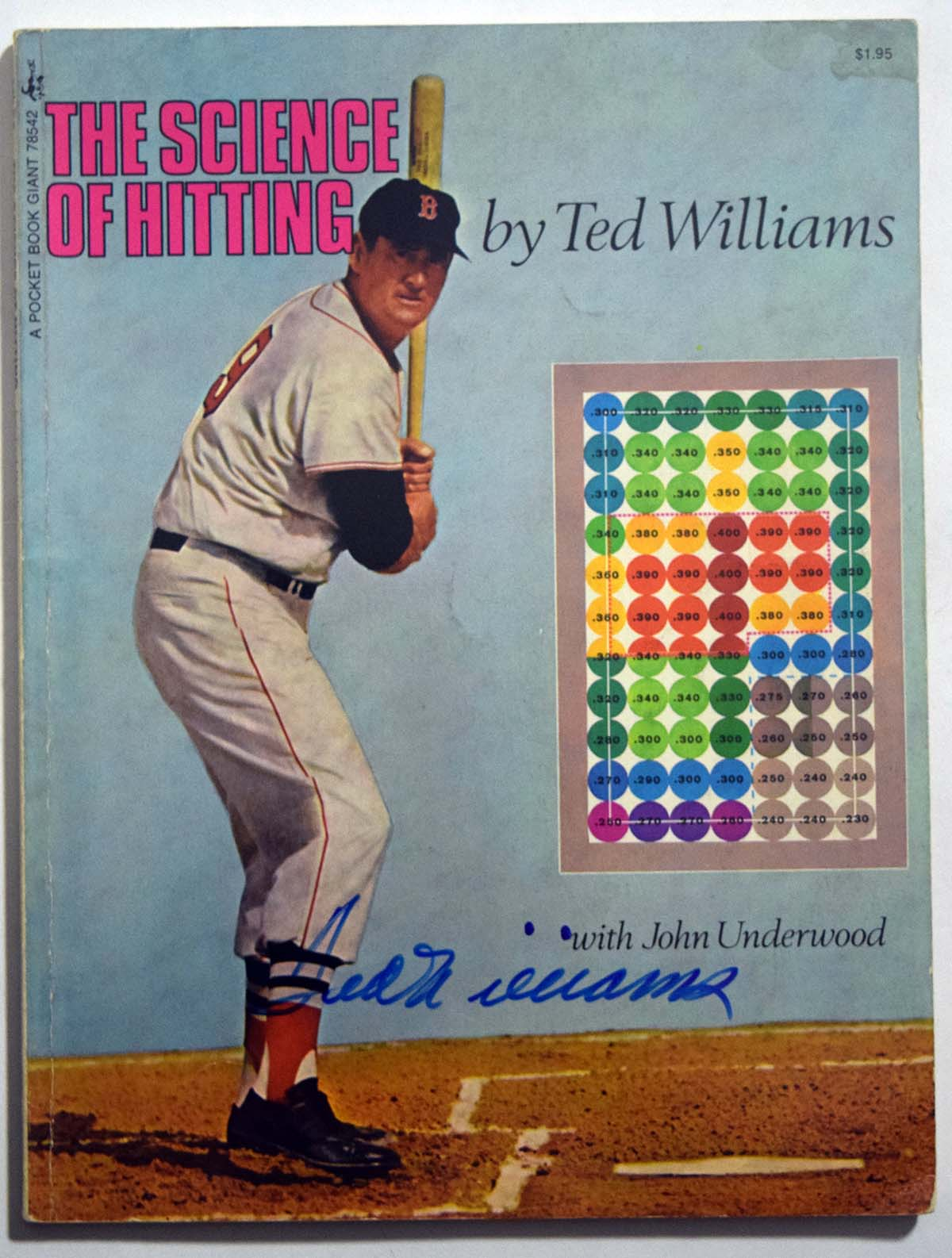Lot #774  Program  Williams, Ted Signed The Science of Hitting Cond: 9.5