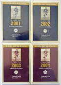 2001 Goal Line  Collection of 8 Sealed Sets Nm-Mt