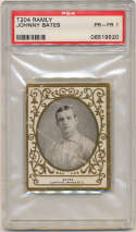 1909 T204 Ramly 8 Johnny Bates PSA 1