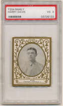1909 T204 Ramly 34 Harry Davis PSA 3