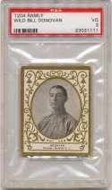 1909 T204 Ramly 39 Bill Donovan PSA 3