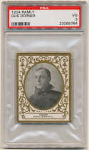 1909 T204 Ramly 40 Gus Dorner PSA 3