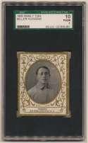 1909 T204 Ramly 58 Miller Huggins SGC 1