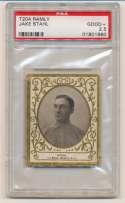 1908 T204 Ramly 111 Jake Stahl PSA 2.5