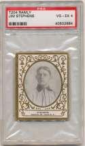 1908 T204 Ramly 113 Jim Stephens PSA 4