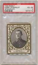 1908 T204 Ramly 112 Harry Stienfeldt PSA 4