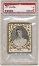 1908 T204 Ramly 115 Bill Sweeney PSA 3