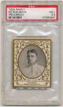 1908 T204 Ramly 101 Ed Ruelbach PSA 3.5