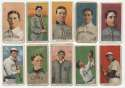 1909 T206  112 cards w/5 HOFers Good
