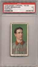 1909 T206 51 Bresnahan (portrait) PSA 3