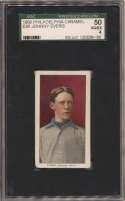 1909 E95 Philadelphia Caramel  Evers SGC 4