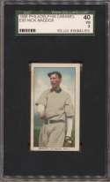 1909 E95 Philadelphia Caramel  Maddox SGC 3