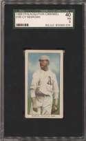 1909 E95 Philadelphia Caramel  Morgan SGC 3
