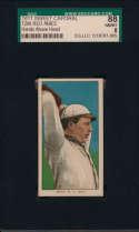 1909 T206 8 Ames (hands above head) SGC 8