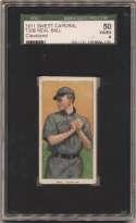 1909 T206 17 Ball (Cleveland) SGC 4