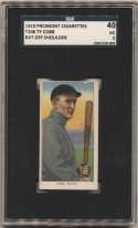 1909 T206 96 Cobb (bat off shoulder) SGC 3
