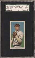 1909 T206 300 Mathewson (white cap) SGC 6
