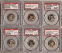 1910 Sweet Caporal Pins  Collection of 80 PSA-Graded Pins w/27 HOFers, SMR $4,400 PSA A - PSA 7