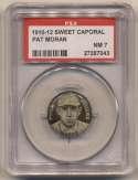 1910 Sweet Caporal Pins 107 Pat Moran PSA 7