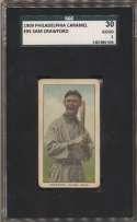 1909 E95 Philadelphia Caramel  Crawford SGC 2