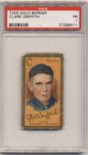 1911 T205 83 Griffith PSA 1