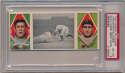 1912 T202 Triple Folders 28 Davy Jones Great Slide (Delahanty, Jones) PSA 6