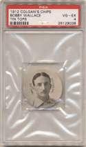 1912 Colgan Chips (Tin Tops) 222 Bobby Wallace PSA 4