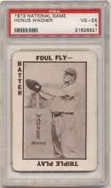 1913 National Game 40 Honus Wagner PSA 4