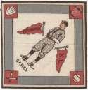 1914 B18 Blanket 11.2 Max Carey (red pennants) Ex-Mt+