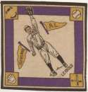 1914 B18 Blanket 45.2 Nemo Leibold (yellow pennants) Ex-Mt