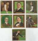 1914 T218  Lot of 7 different VG to VG-Ex