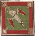 1914 B18 Blanket 86.2 Zach Wheat (green infield) Ex-Mt+
