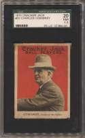 1915 Cracker Jack 23 Comiskey SGC 1.5