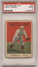 1915 Cracker Jack 35 Hooper PSA 2